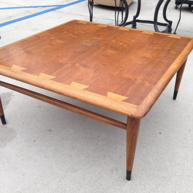 midcentury modern coffee table loveseat vintage