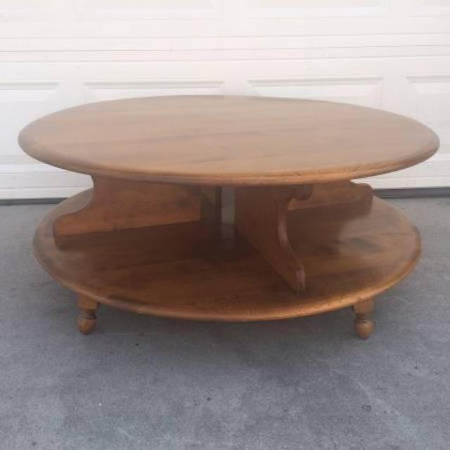 Beautiful Mid Century Lazy Susan Coffee Table Loveseat Vintage Furniture San Diego