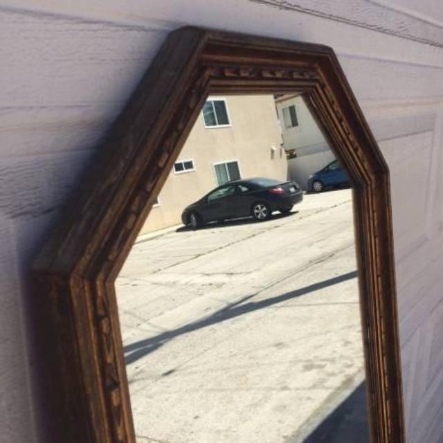 vintage gold framed full length floor mirror loveseat vintage furniture san diego. Black Bedroom Furniture Sets. Home Design Ideas