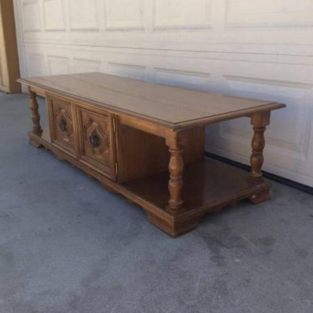Beautiful Vintage Cocktail Coffee Table Loveseat Vintage Furniture San Diego