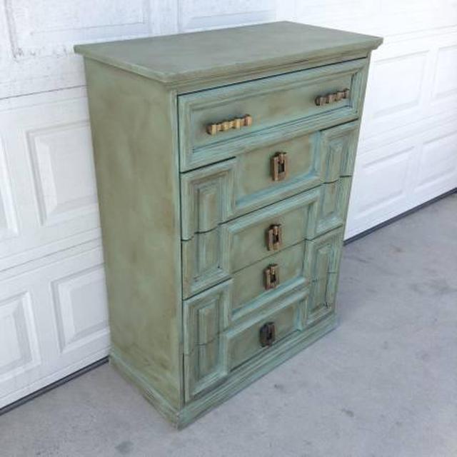 """Vintage Provence Und Shabby Chic Im: Shabby Chic Provence 5-Drawer Dresser By """"Bassett"""