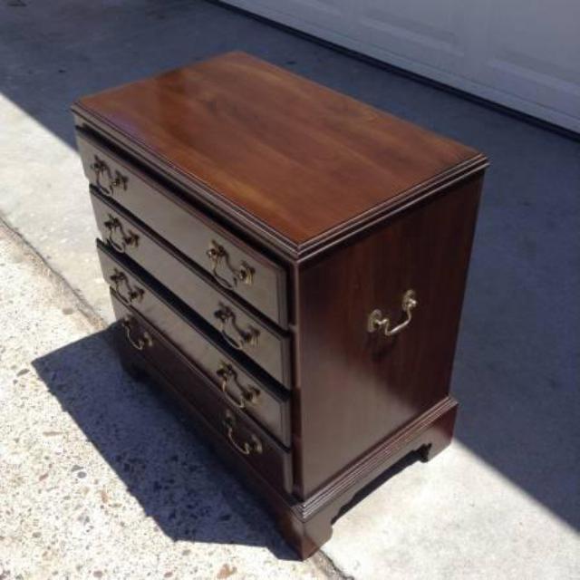 Quot Ethan Allen Quot 4 Drawer Mini Dresser Loveseat Vintage Furniture San Diego