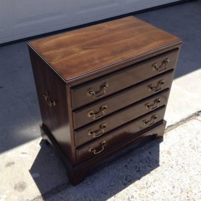 Quot Ethan Allen Quot 4 Drawer Mini Dresser Loveseat Vintage