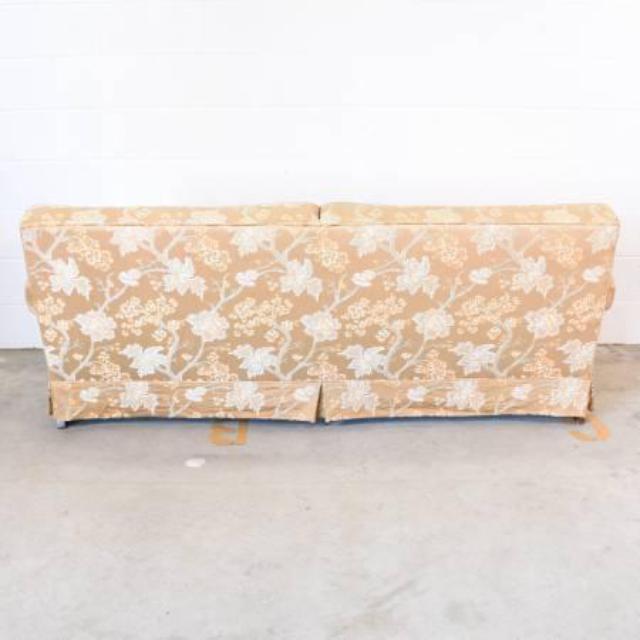 Vintage Sofa In Beige Floral Upholstery Loveseat Vintage Furniture San Diego