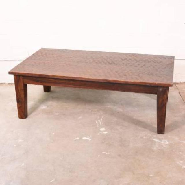rustic solid wood coffee table loveseat vintage