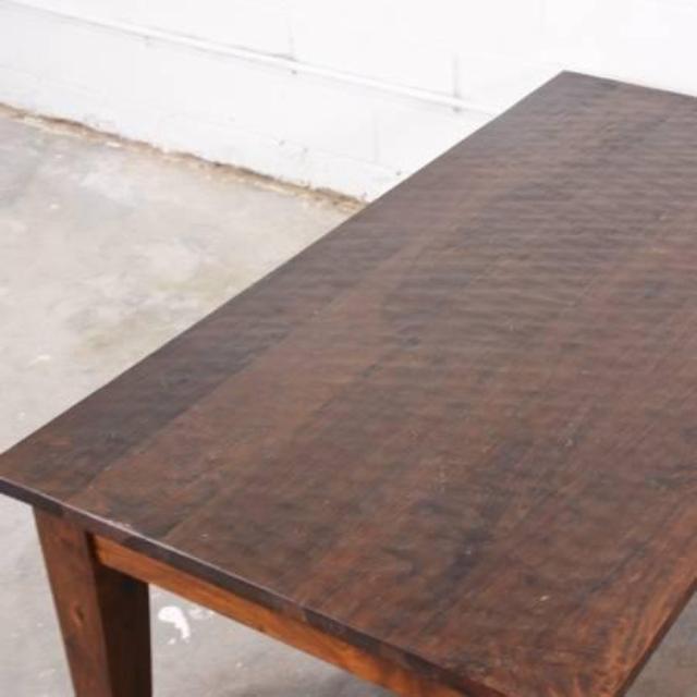Rustic Solid Wood Coffee Table Loveseat Vintage Furniture San Diego