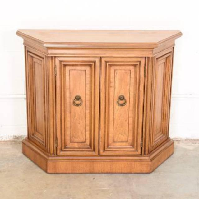 Foyer Console Cabinet : Retro foyer cabinet console table loveseat vintage