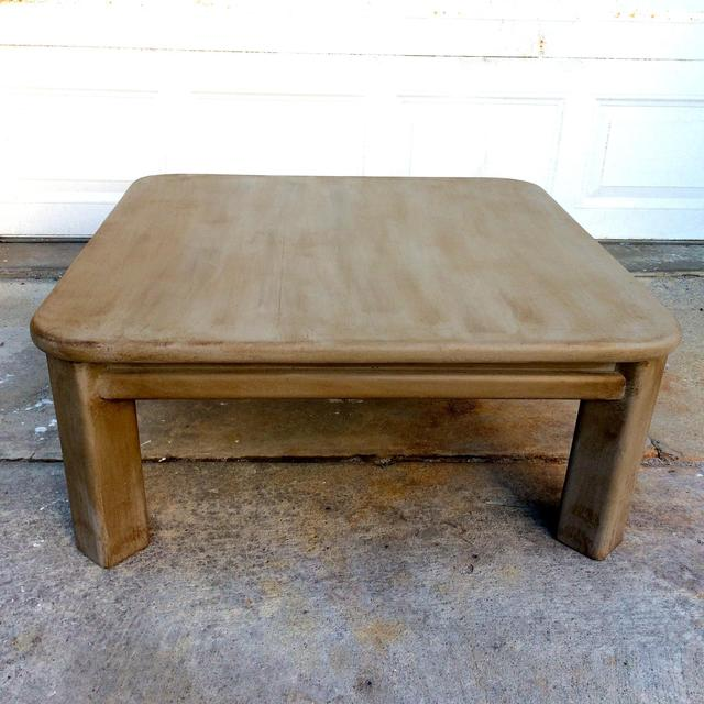 Shabby Chic Corner Coffee Table: Shabby Chic French Linen Coffee Table