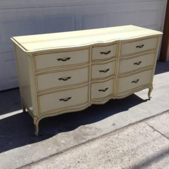 French Provincial 9 Drawer Dresser By Quot Drexel Quot Loveseat