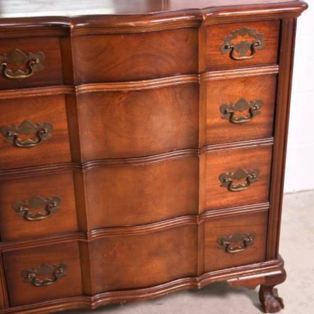 """Vintage Furnitures: """"Kling"""" Solid Wood Vintage 8-Drawer Dresser"""