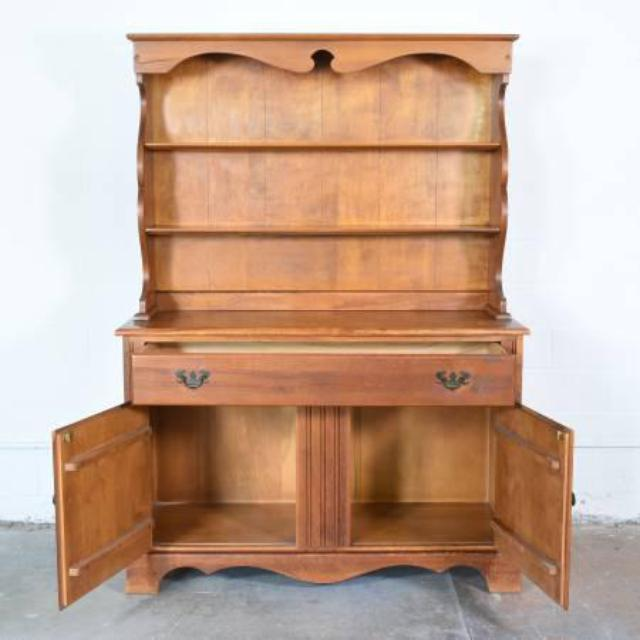 """Dining Room Furniture San Diego: """"Temple Stuart"""" Solid Wood Dining Hutch"""