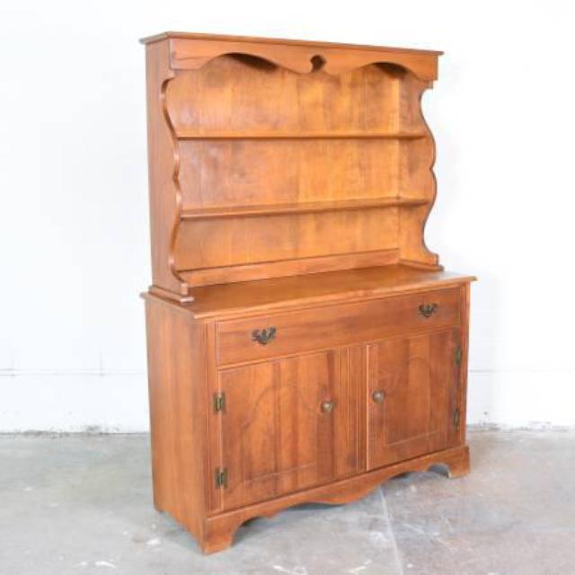 Quot Temple Stuart Quot Solid Wood Dining Hutch Loveseat Vintage
