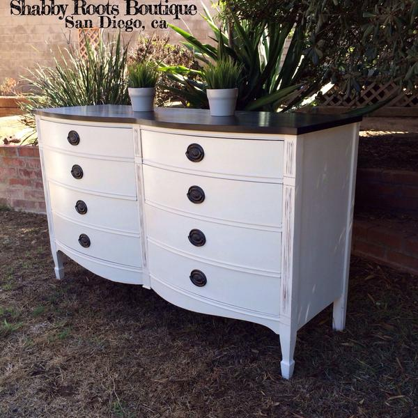 White And Black Mahogany Vintage Bedroom Set Loveseat Vintage Furniture San Diego Los Angeles