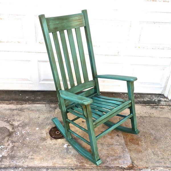 Vintage Provence Und Shabby Chic Im: Shabby Chic Provence Rocking Chair