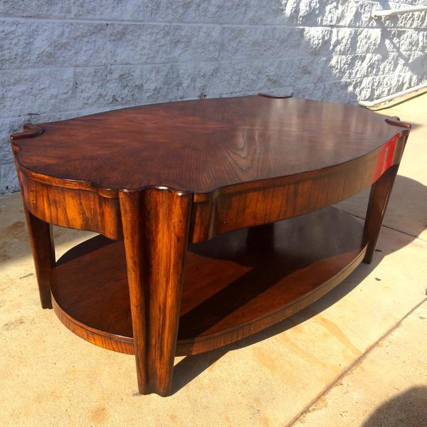 Unique Art Deco Style Coffee Table Loveseat Vintage Furniture San Diego Los Angeles