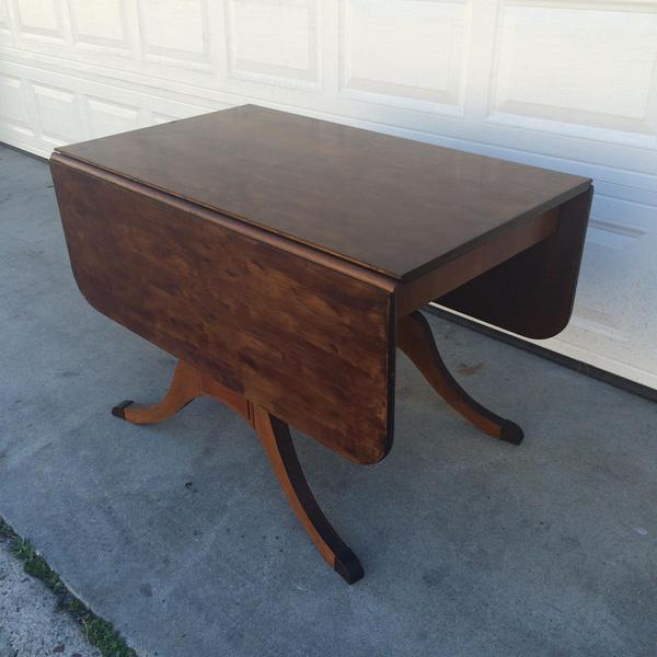 Vintage Drop Leaf Kitchen Dining Table