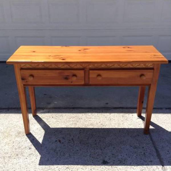 Shaker Console Table Choice Image Table Design Ideas
